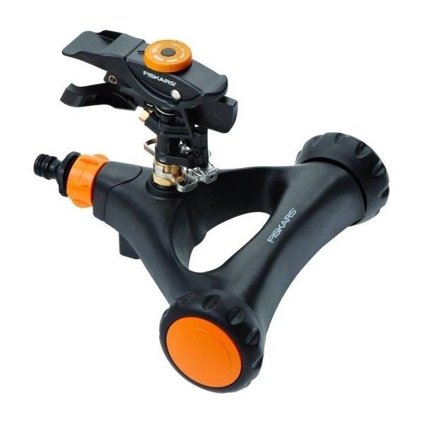 Fiskars Impulssprinkler med hjul, metal