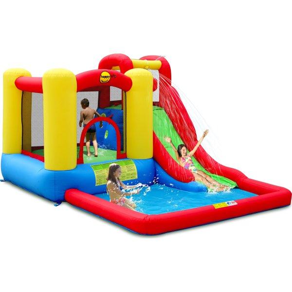 Happy Hop - Jump&Splash-Hoppeborg/vandrutschebane