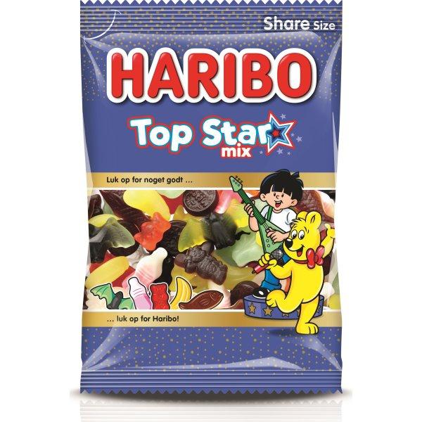 Haribo Top star mix, 375 g