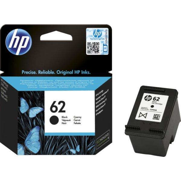 HP No62 blækpatron, sort, 200 sider
