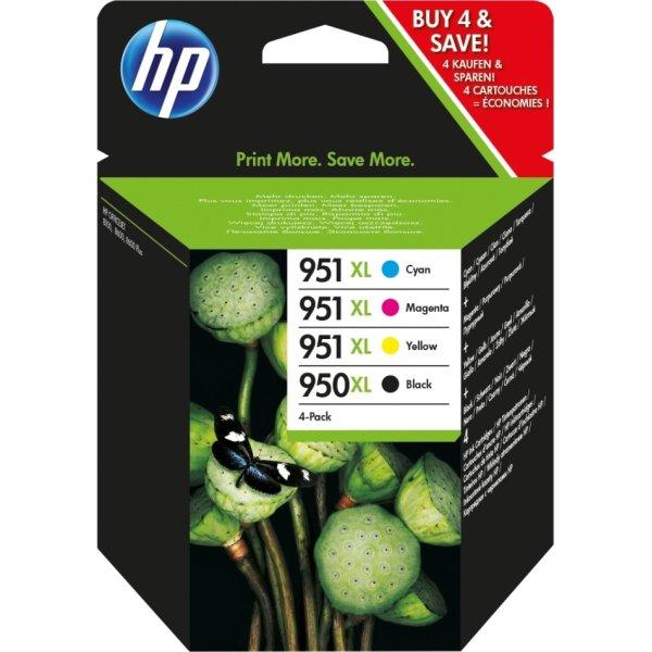 HP No950/951XL blækpatroner, sampak