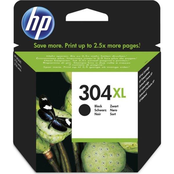 HP No304XL blækpatron blister, sort, 300s