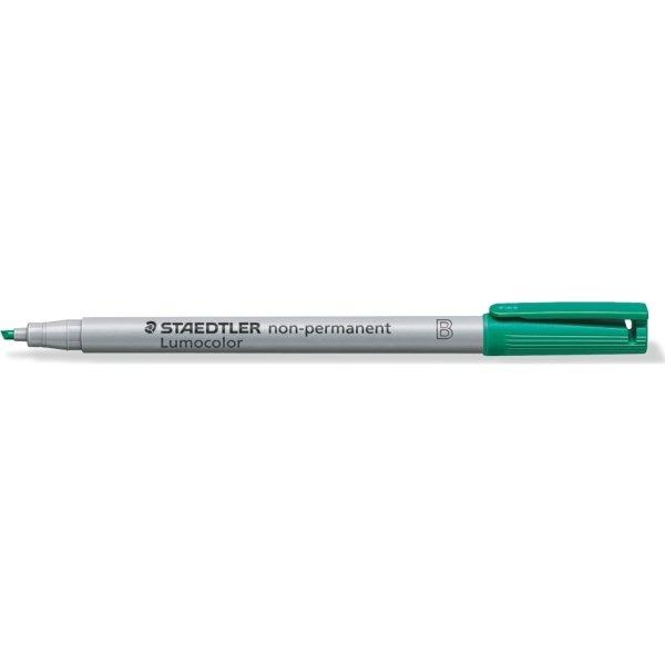 Staedtler Lumocolor 312 Marker B, non-perm, grøn