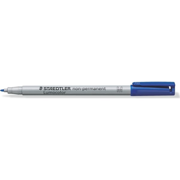 Staedtler Lumocolor 315 non permanent marker, blå