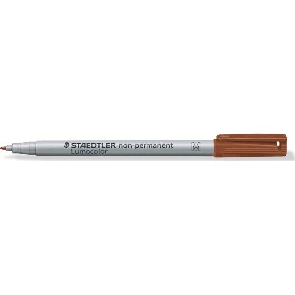 Staedtler Lumocolor 315 non permanent marker, brun