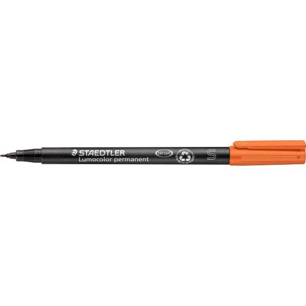 Staedtler Lumocolor 313 Marker S, perm, orange