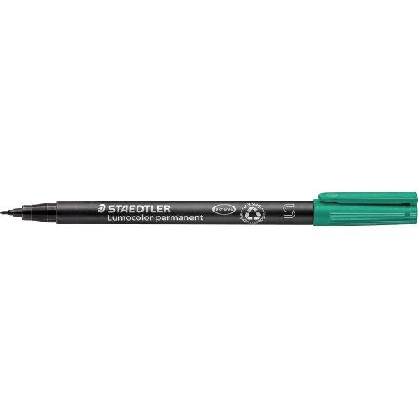Staedtler Lumocolor universal marker SF 0,4mm grøn