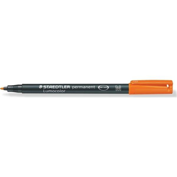 Staedtler Lumocolor 317 Marker M, perm, orange