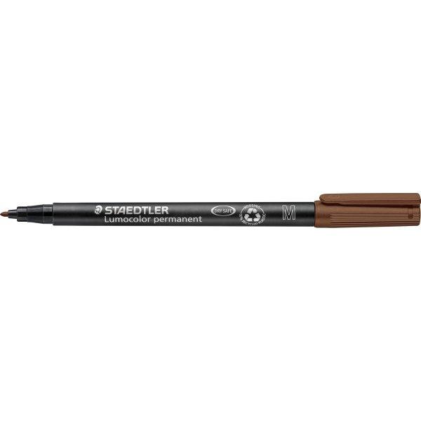 Staedtler Lumocolor 317 Marker M, perm, brun