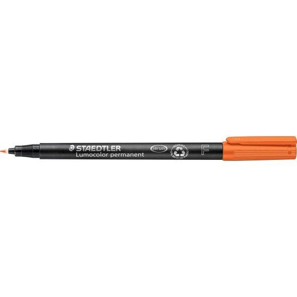 Staedtler Lumocolor 318 Marker F, perm, orange