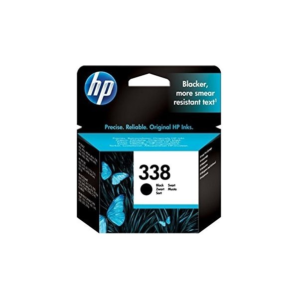 HP No338 blækpatron, blister, sort, 450s