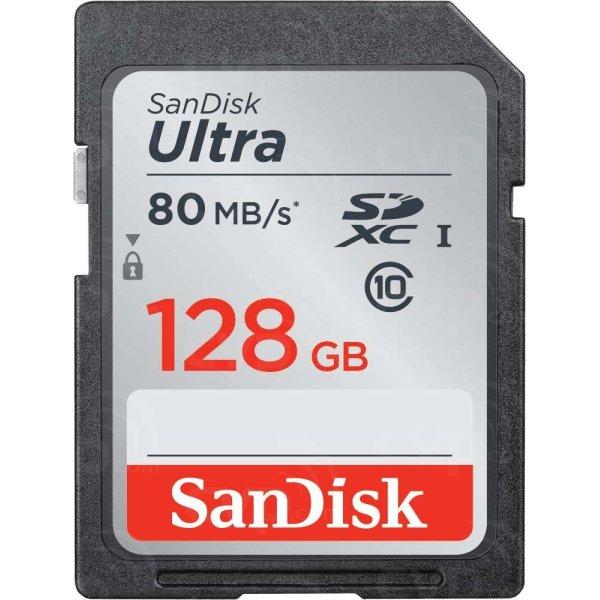SanDisk Ultra UHS-I SDXC hukom.kort, 128GB