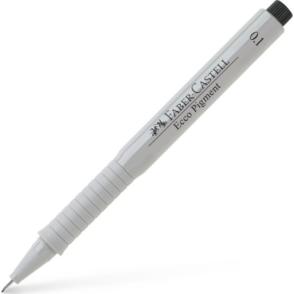 Faber-Castell Ecco Pigment Finepen 0,1 mm, sort