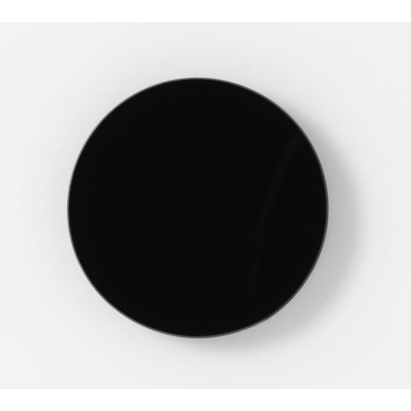 NAGA Nord magnetisk glastavle, 10 cm, sort