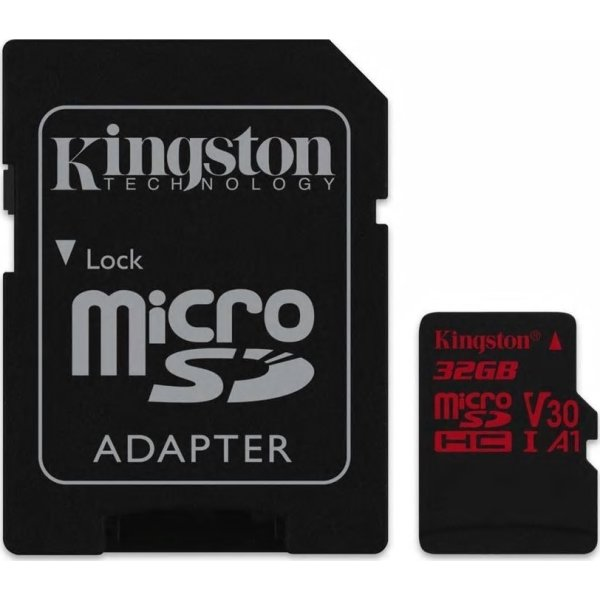 KINGSTON Canvas React 32GB microSDHC hukom.kort