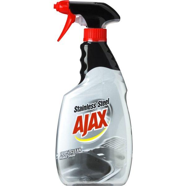 Ajax Specialist Spray Stainless Steel, 500 ml