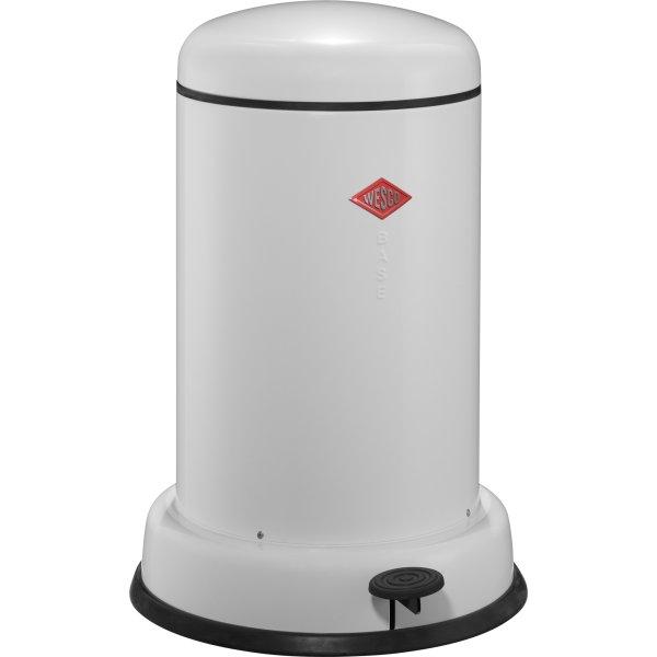 Wesco Baseboy pedalspand, 15 L, hvid