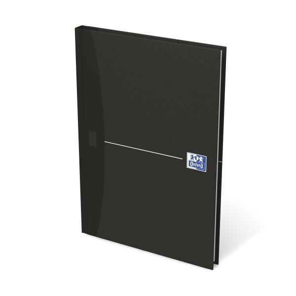 Oxford Smart Black Notesbog A5, kvadreret