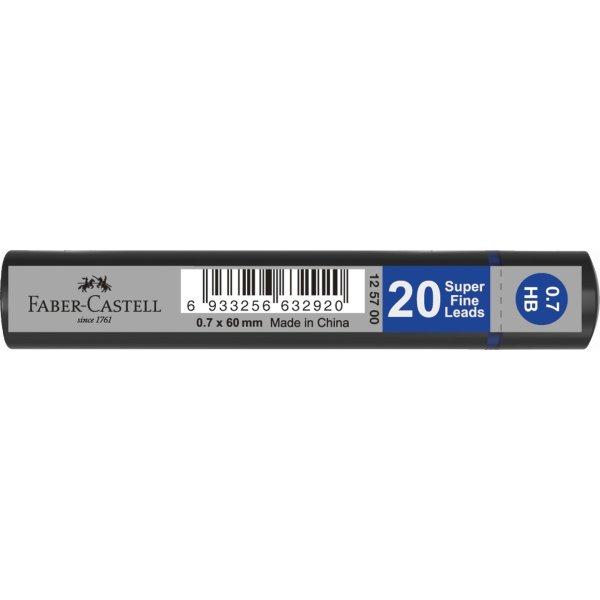 Faber-Castell Grip Stifter 0,7 mm HB, 20 stk.
