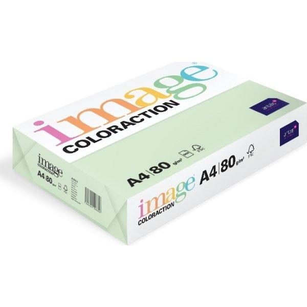 Image Coloraction A4, 80g, 500ark, søgrøn