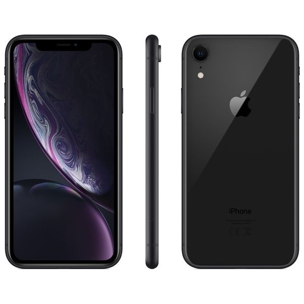Apple iPhone XR 64GB, sort