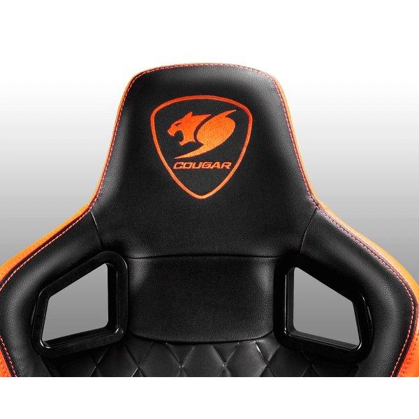 Cougar gaming kontorstol Armor S, sort/orange