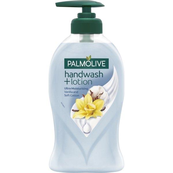 Palmolive Håndsæbe+Lotion Cotton & Vanilla, 250 ml