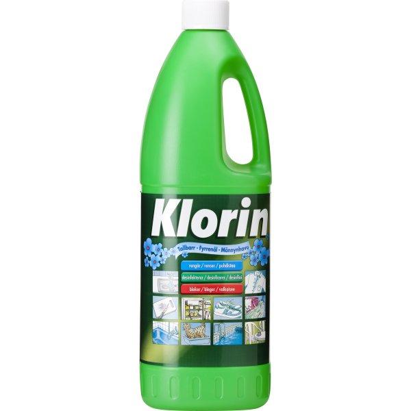 Klorin Fyrrenål, 1,5 liter
