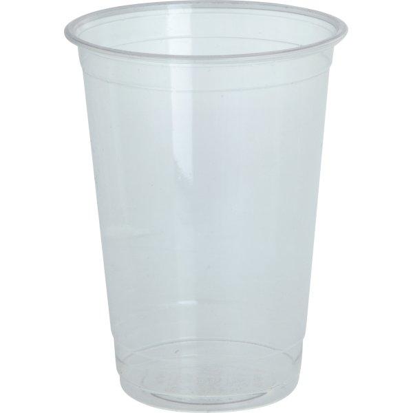 Komposterbart Drikkebæger, klar, PLA, 250 ml