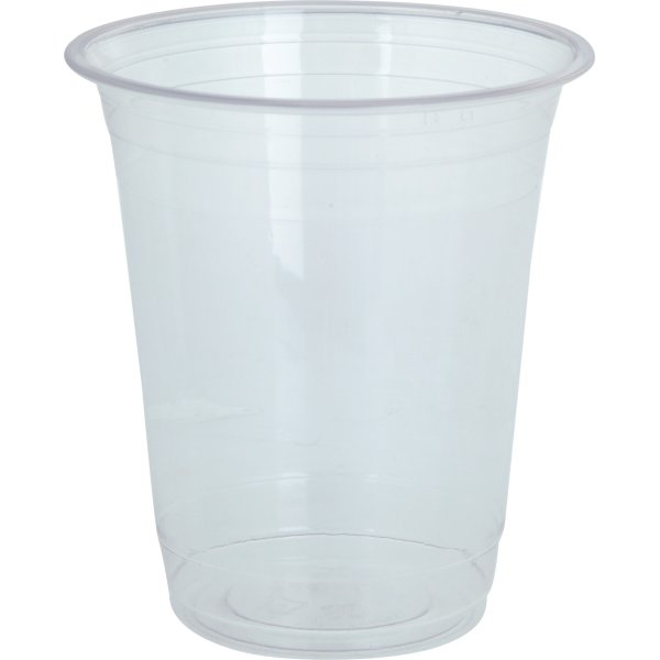 Komposterbart Drikkebæger, klar, PLA, 360 ml