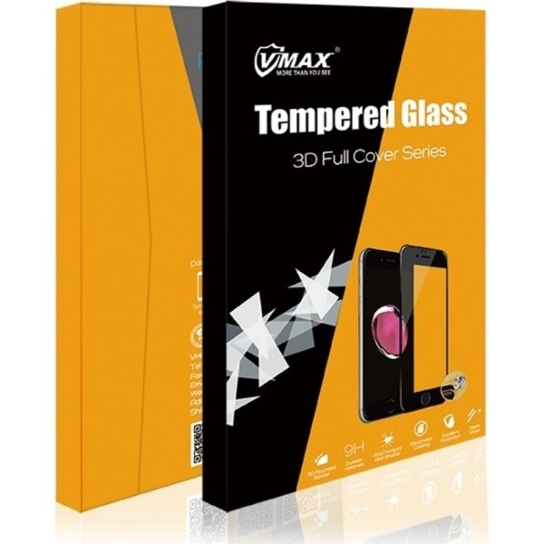"""VMax 3D skærmbeskyttelse til iPhone 6,1"""" (sort)"""
