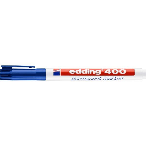 Edding 400 permanent marker, blå