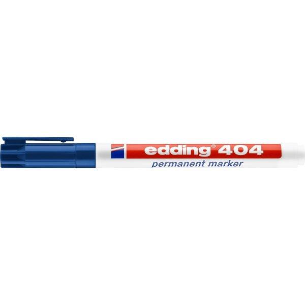 Edding 404 permanent marker 0,75 mm, blå