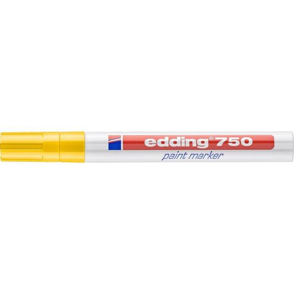 Edding 750 paint marker, gul