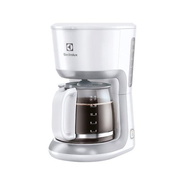Electrolux EKF3330 Kaffemaskine, Hvid