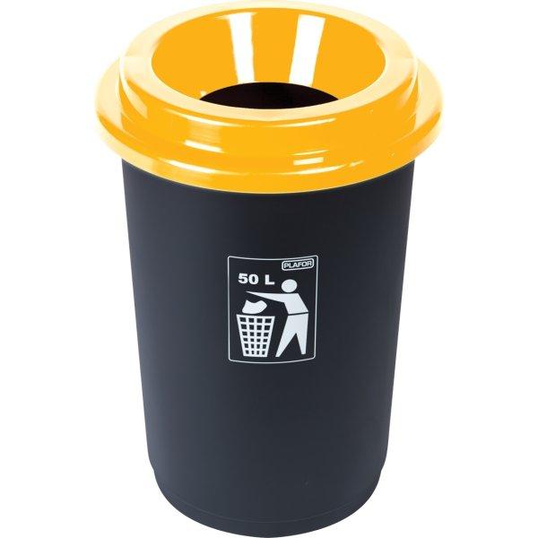 Minatol Affaldsspand ECO, 50 L, gul