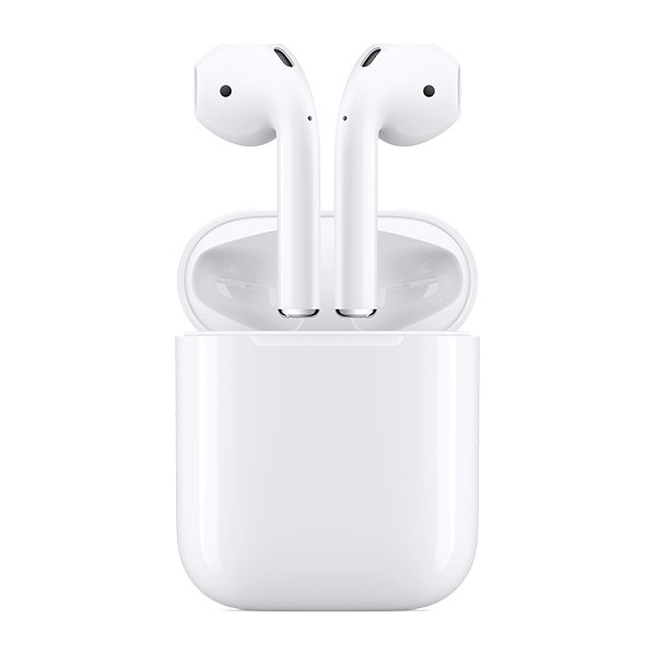 Apple AirPods med opladningsetui, hvid
