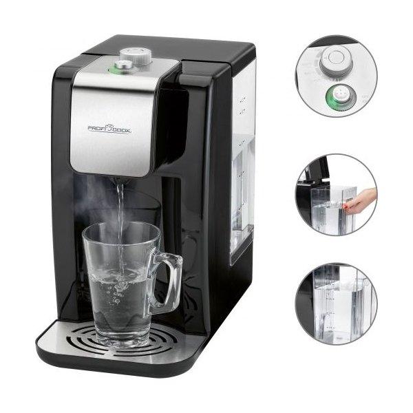 ProfiCook PC-HWS 1145 varmt vand dispenser