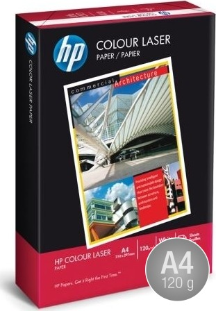 HP ColourLaser Papir A4,120g, 250 ark