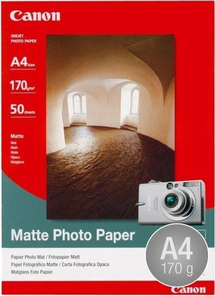 Canon MP-101 mat inkjetfoto, A4/170g/50ark