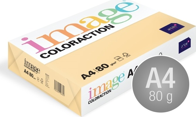 Image Coloraction A4, 80g, 500ark, chamois