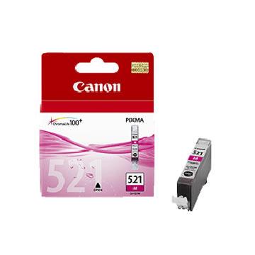 Canon CLI-521M blækpatron, rød, 450s