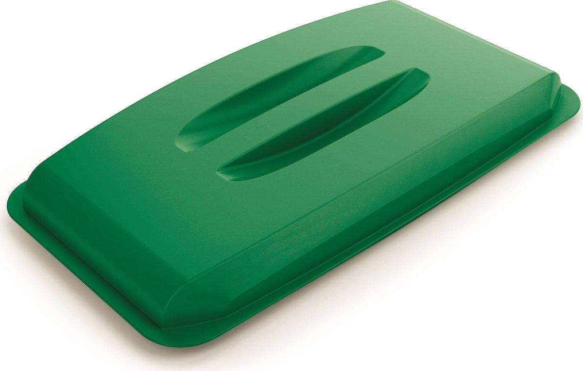 "Låg ""håndtag"" til affaldsspand 60 l, Grøn"