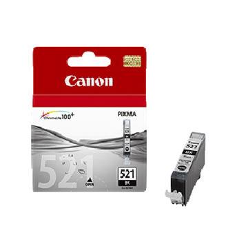 Canon CLI-521BK blækpatron, sort, 1250s
