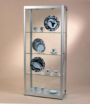 Glasmontre prezent 2, sølv
