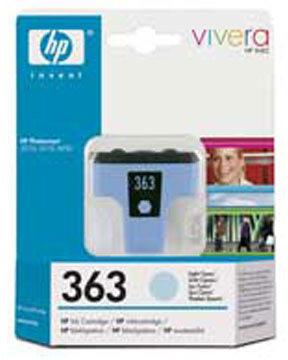 HP nr.363/C8771EE blækpatron, blå, 400s