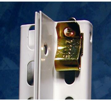 META Clip hyldebærer til tophylde, 1 stk.