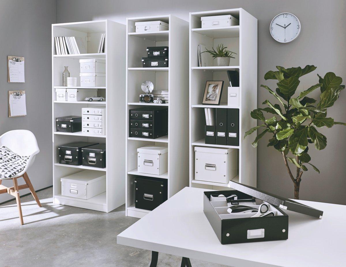 Leitz Click & Store hængemappearkiv, sort