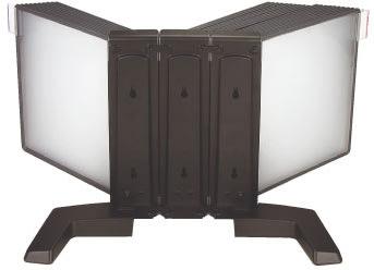 Infocenter bordmodel A4 med 30 lommer, sort
