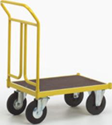 Ravendo lagervogn, 75x50 cm, 400 kg, Massive hjul